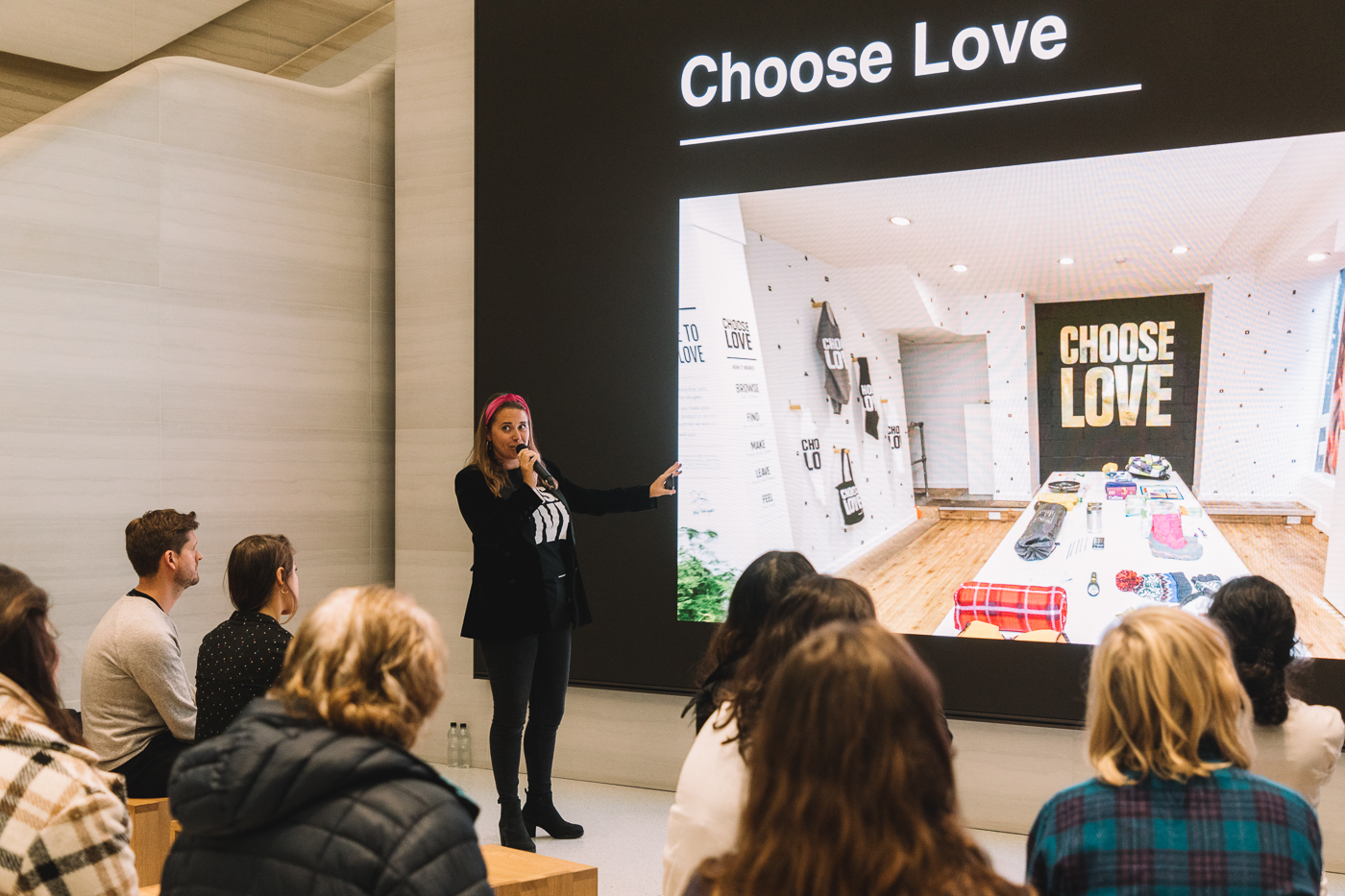 Choose Love, Apple, Appear Here, Popup, Popup shop, Choose Love pop up, Help Refugees